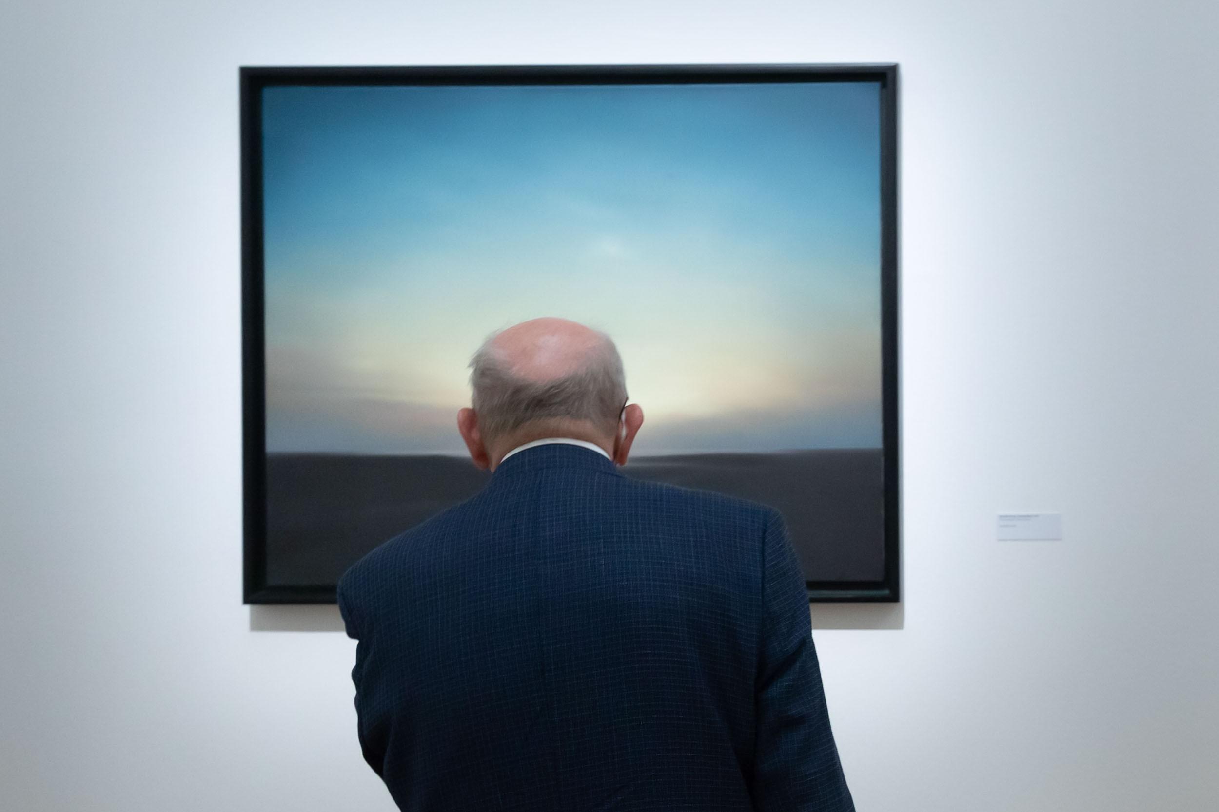 foto.esel.at: Gerhard Richter (Kunstforum Wien, bis 14.2.2021)