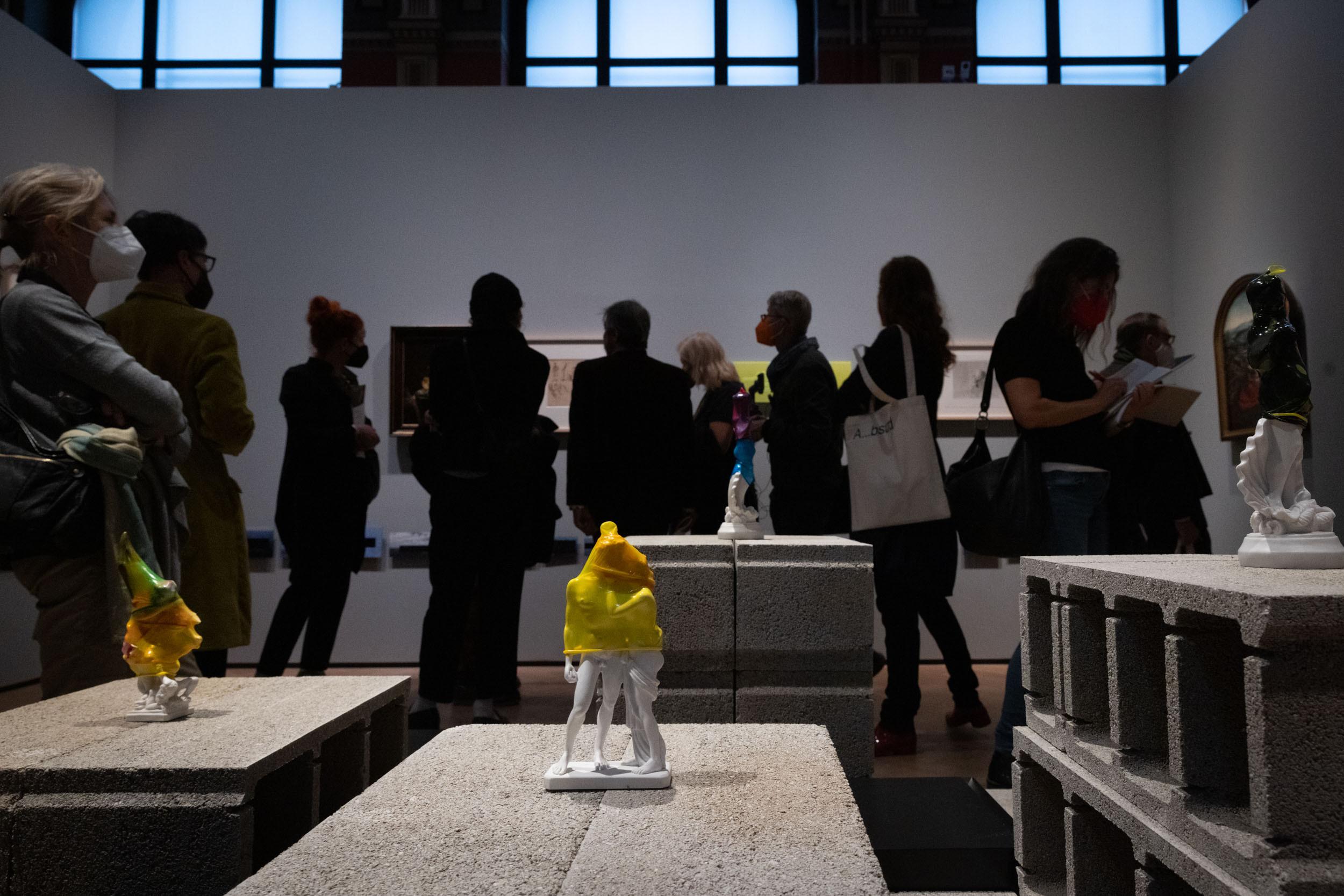 eSeL Foto: Hungry for Time - Raqs Media Collective (Gemäldegalerie Akademie der Bildenden Künste Wien, 09.10.2021 - 30.01.2022, Presseführung)
