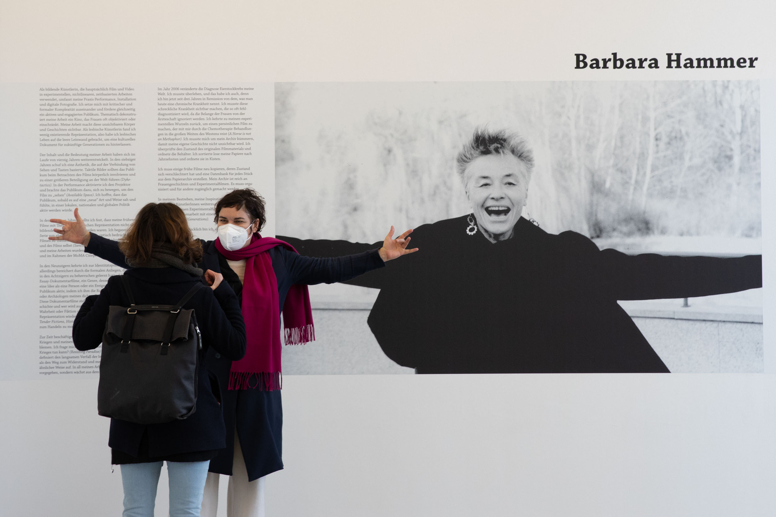 eSeL Foto: Barbara Hammer - Women I Love (Franz Josefs Kai 3, 05.03 – 02.05.2021)