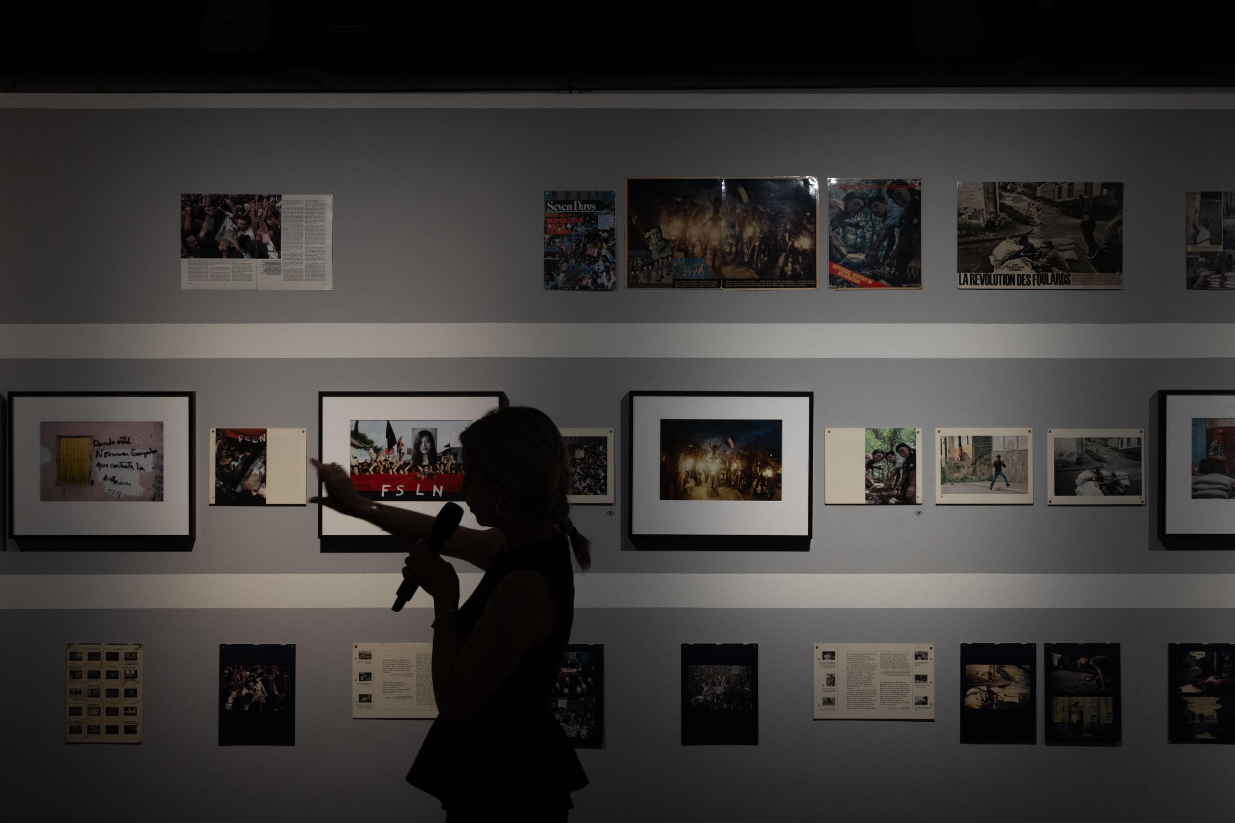 eSeL Foto: Presseführung Susan Meiselas – Mediations (Kunst Haus Wien, 16.09.2021-13.02.2022)