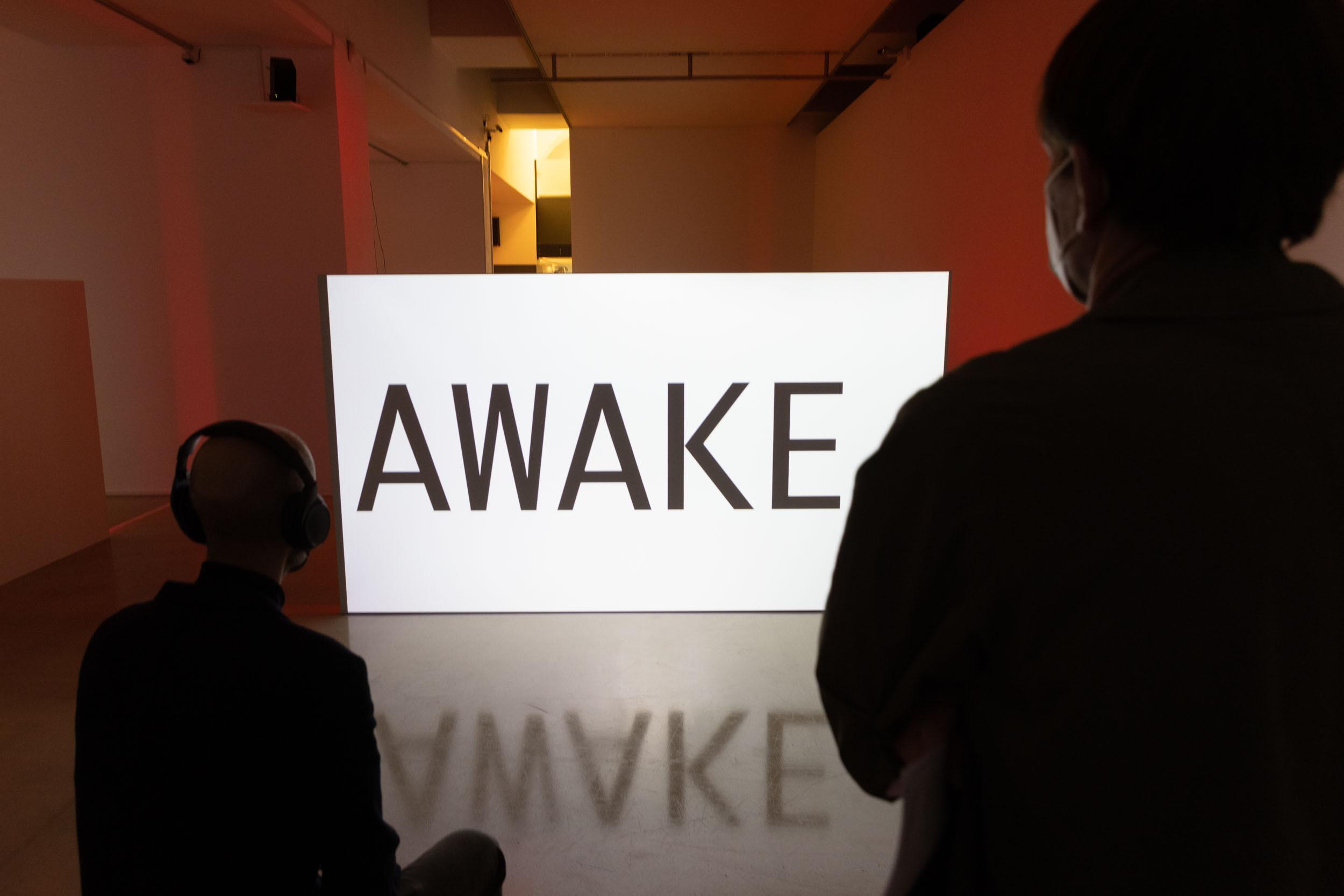 eSeL Foto: Wake Words (Kunstraum Niederösterreich, 1.10. - 27.11.2021, Eröffnung)