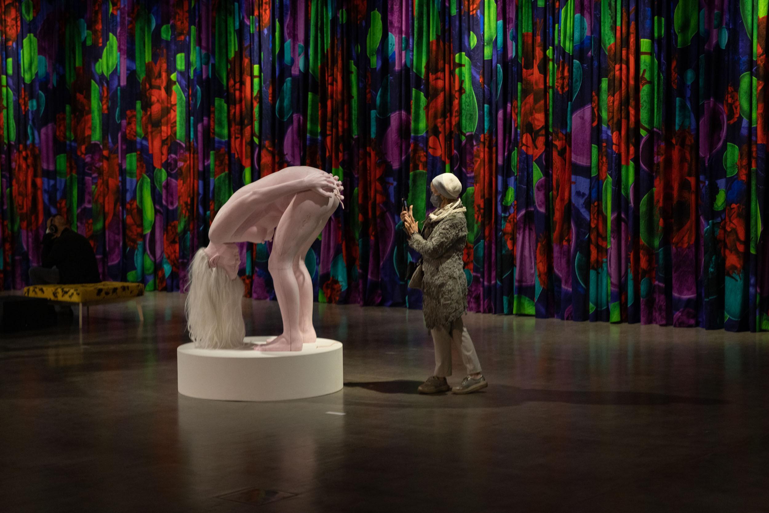 eSeL Fotos: Ines Doujak – Geistervölker (Kunsthalle Wien, 1.10.2021 - 16.1.2022, Eröffnung)