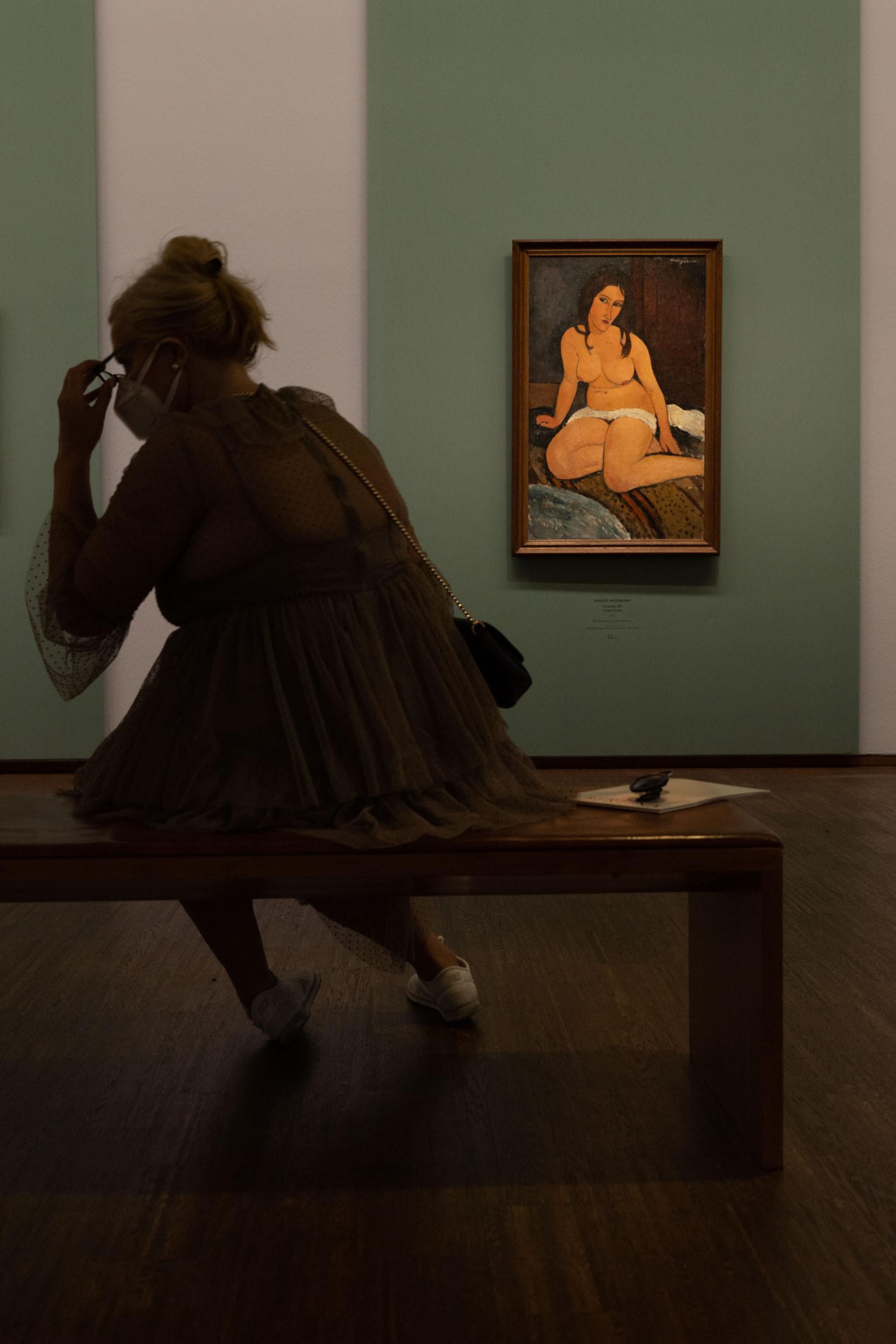 eSeL Foto: Modigliani (Albertina, 17.9.2021 - 9.1.2022)