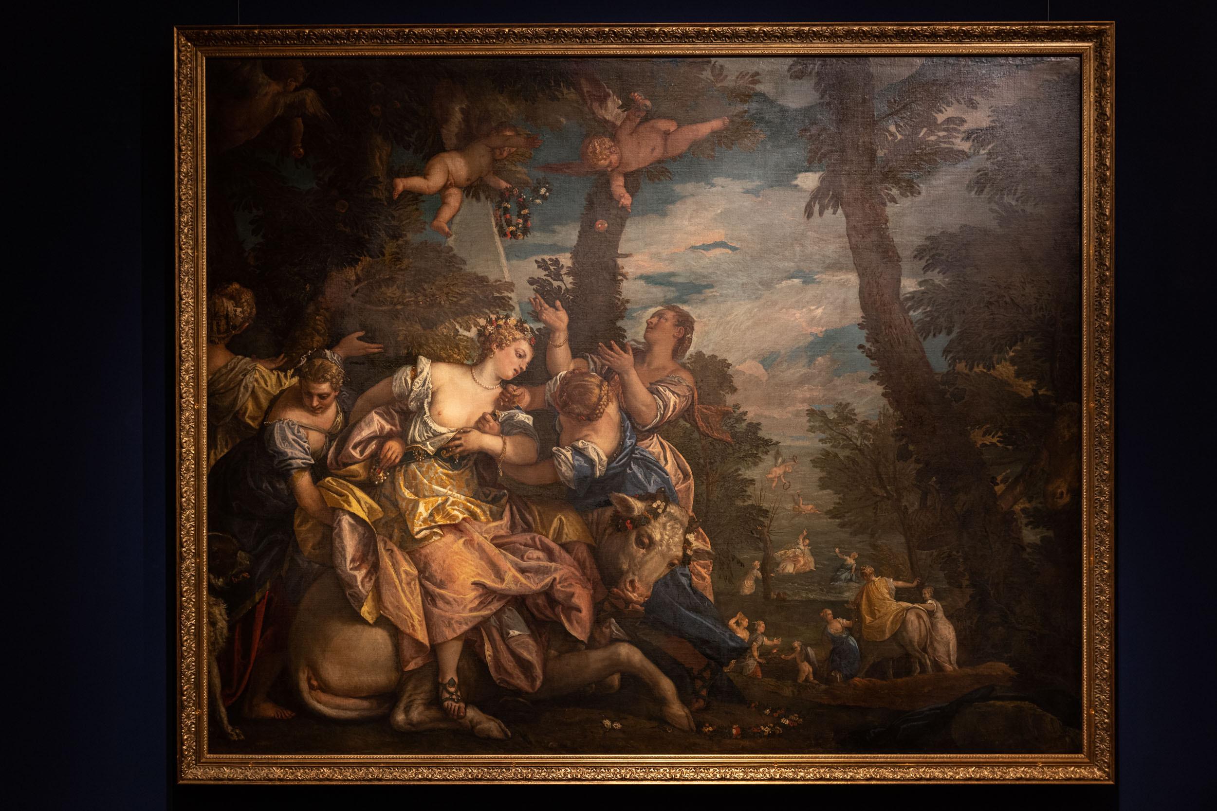 eSeL Foto: Tizians Frauenbild. Schönheit – Liebe – Poesie (Kunsthistorisches Museum, 15.10.2021 - 16.1.20222)