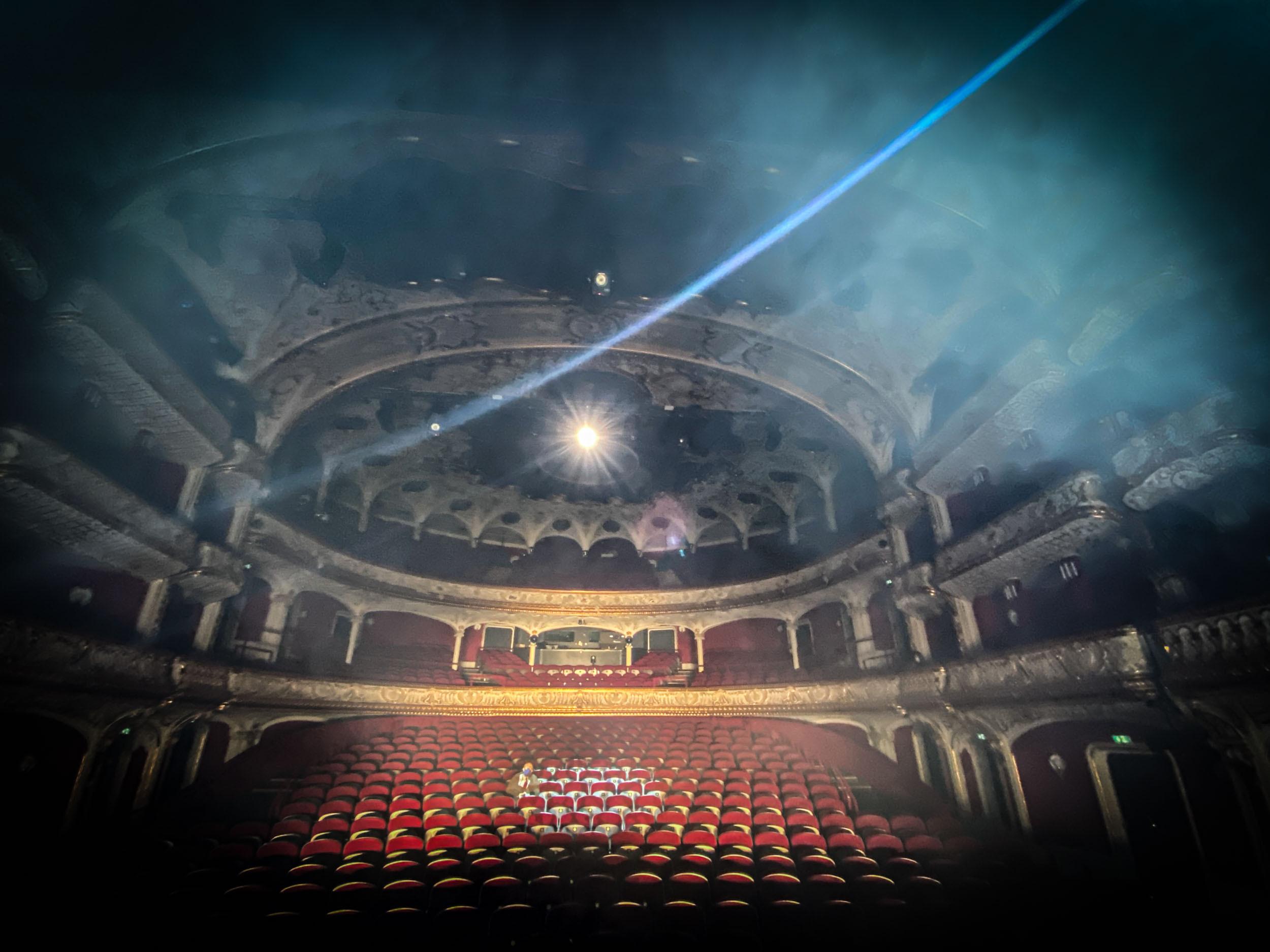 eSeL Foto: Rimini Protokoll - Black Box (Volkstheater Wien, erneut ab 3.4., Vorverkauf ab 25.3.)