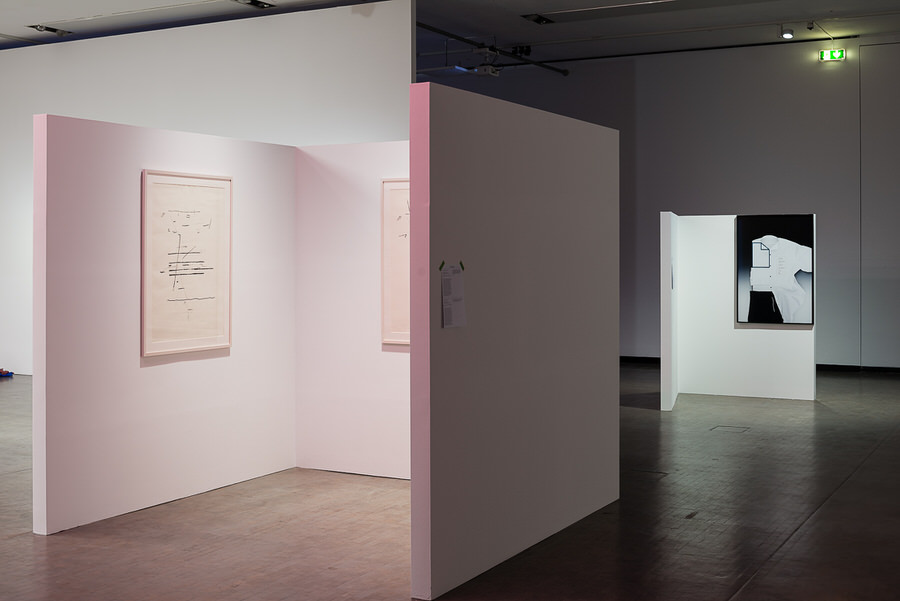 "Installationsansicht ""More Than Just Words. On the Poetic"", Kunsthalle Wien, Foto: Jorit Aust."
