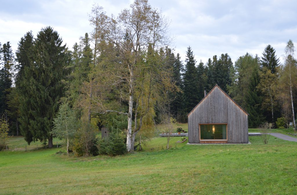 Bernardo Bader, Haus am Moor, Krumbach, Vorarlberg, AT, 2013 © Architekturzentrum Wien