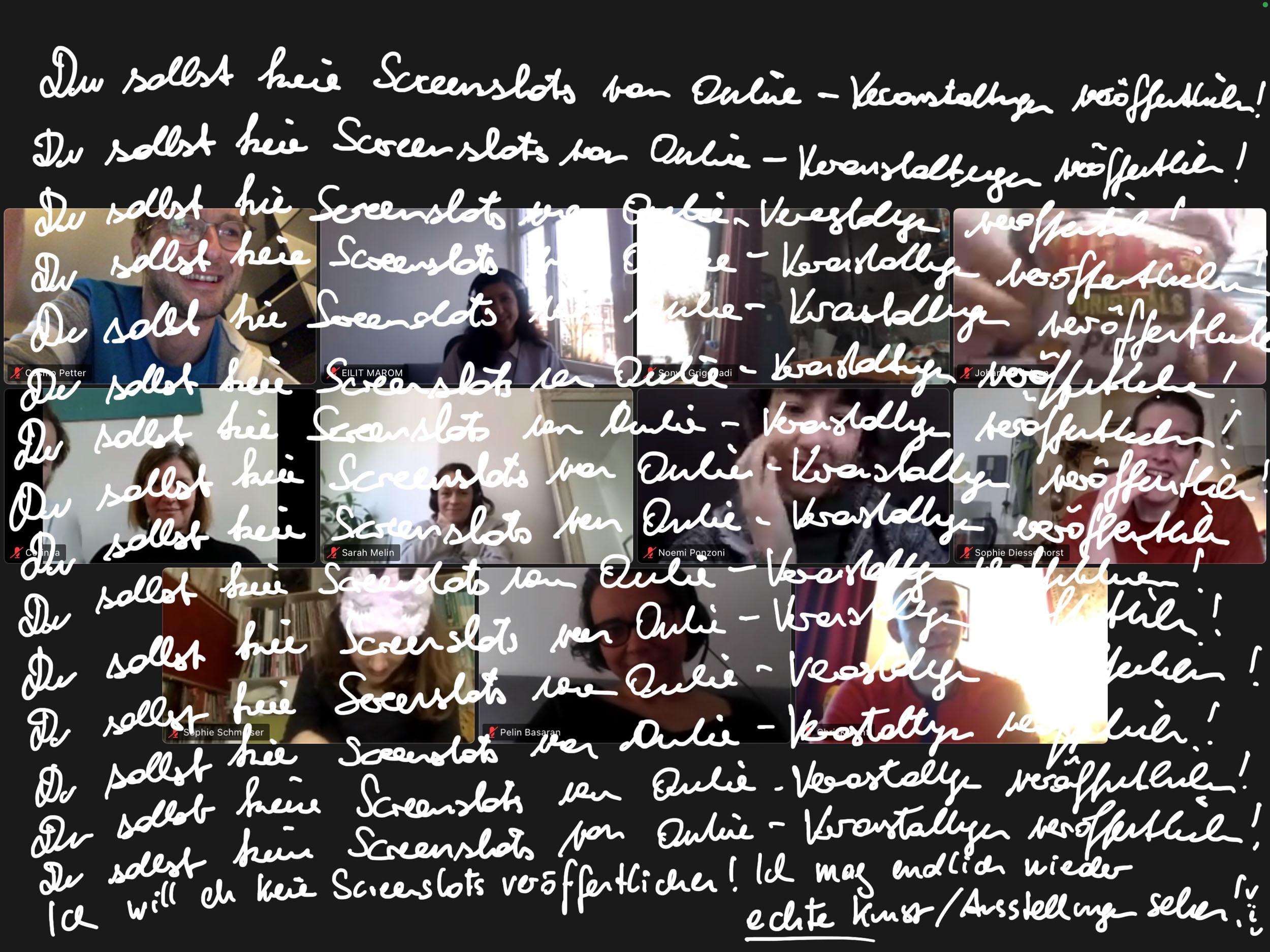 eSeL Screenshot: Imagetanz 2021 – Samara Hersch (brut)