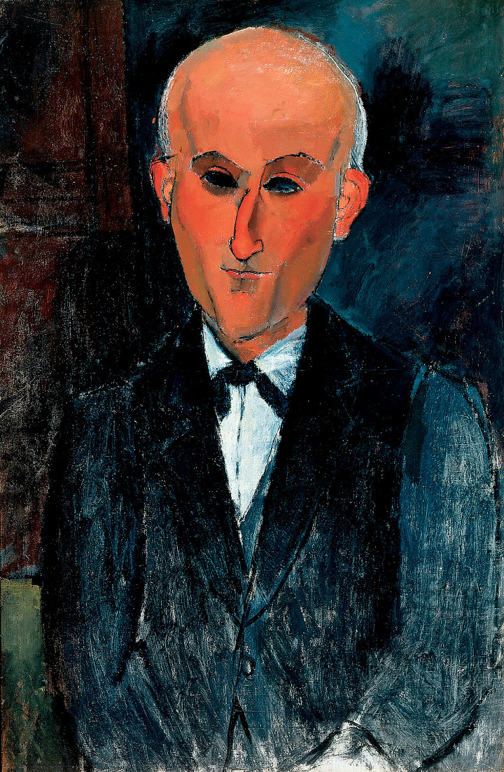 Amedeo Modigliani: Max Jacob, 1916/17
