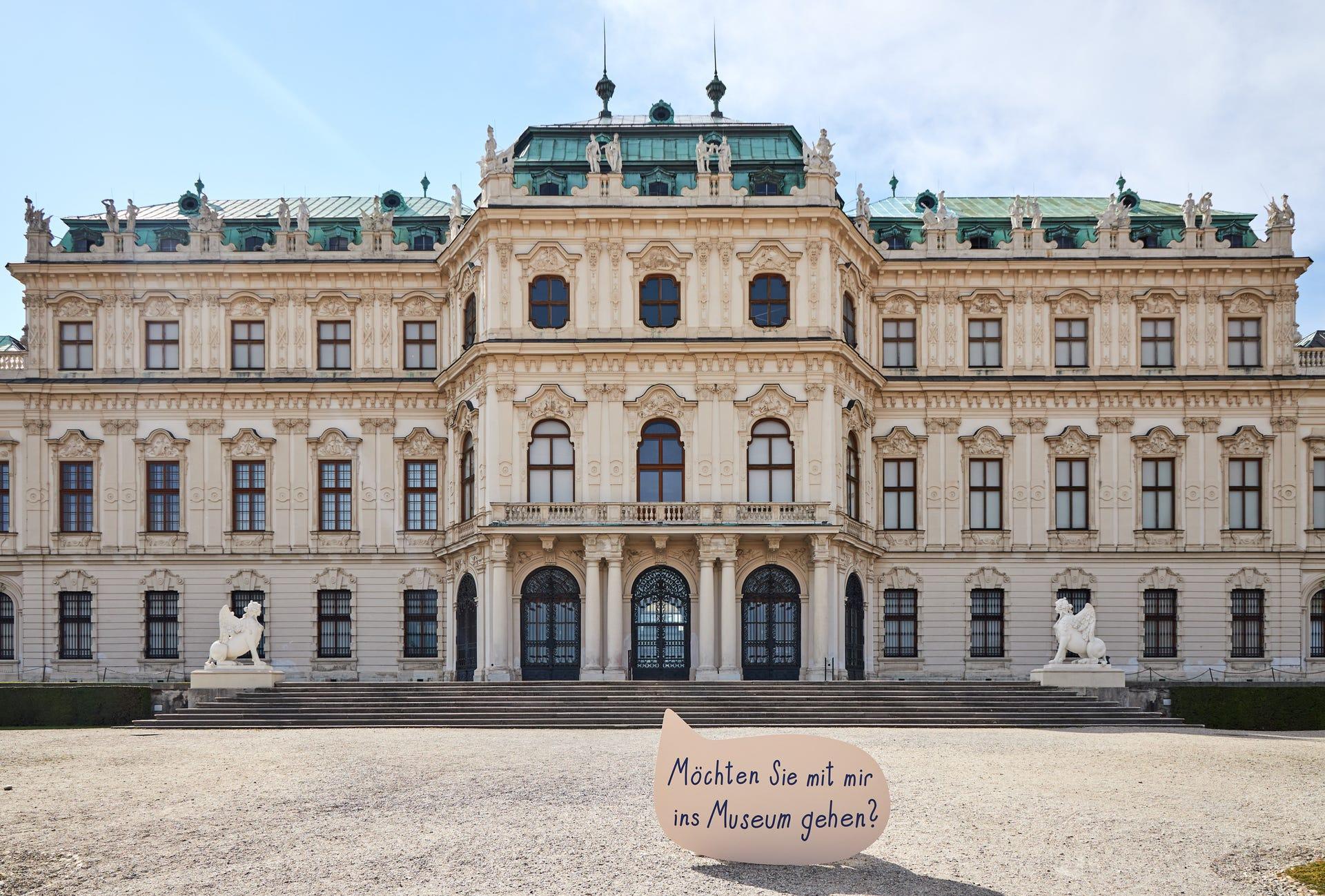 Oberes Belvedere (Foto: Institut für Kunstgeschichte, Armin Plankensteiner)