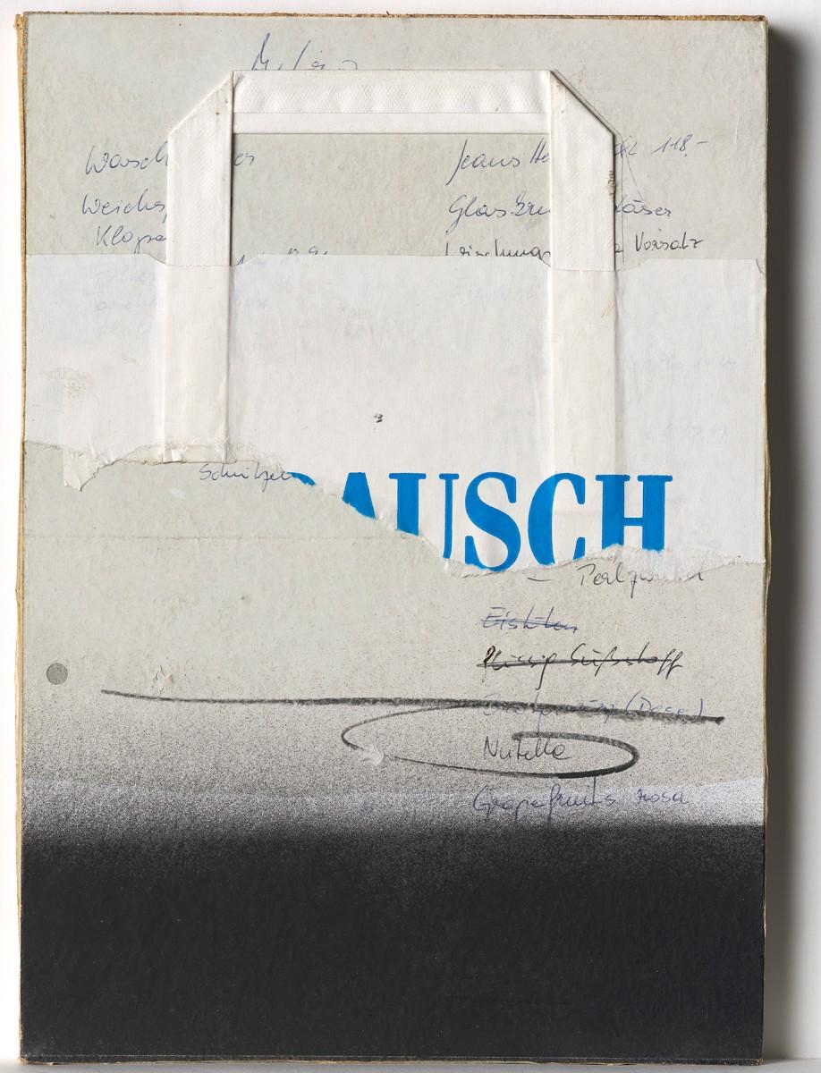 Josef Bauer, Merkzettel - Haupt- und Nebenbilder  Foto: Johannes Stoll, © Belvedere, Wien