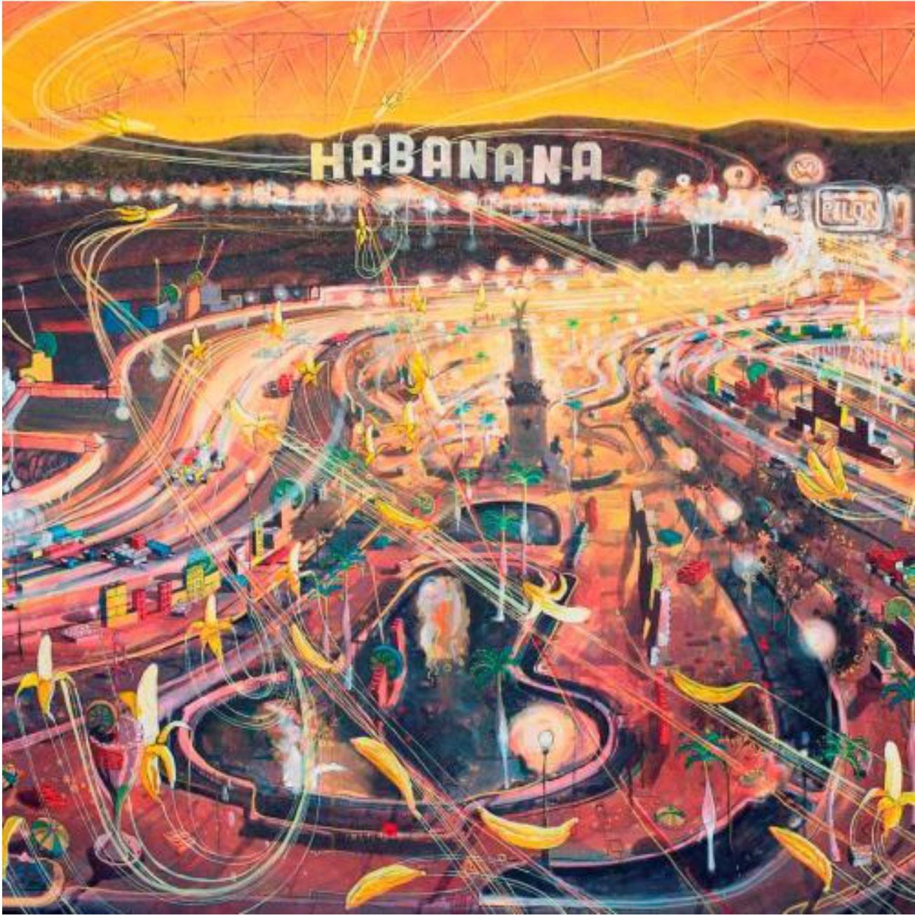 Douglas Pérez The great Banana Republic Oil on canvas, 2012