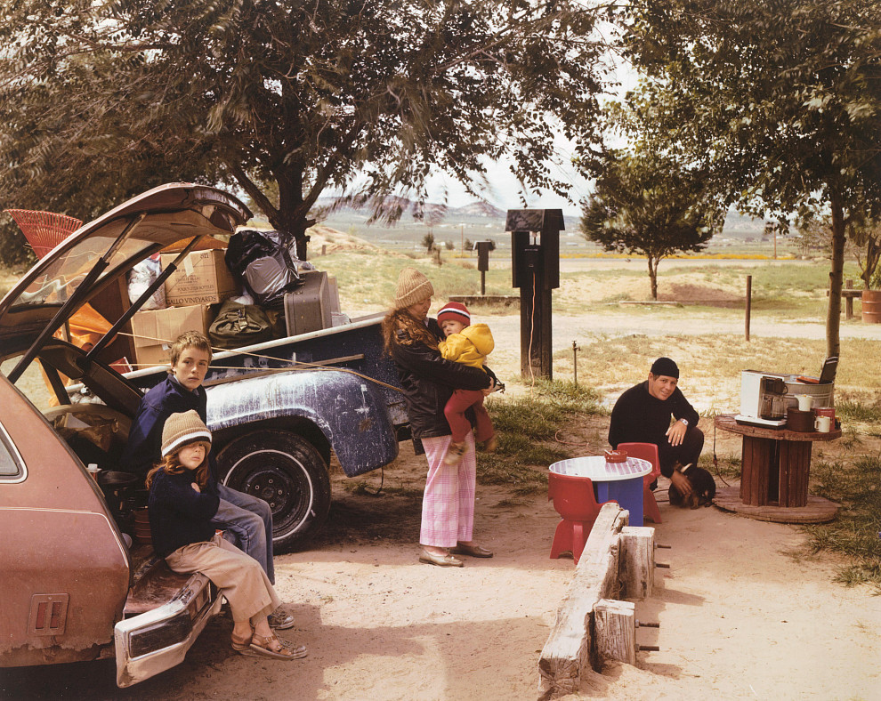 Joel Sternfeld: Red Rock State Campground, Gallup, New Mexico, September 1982, 1982