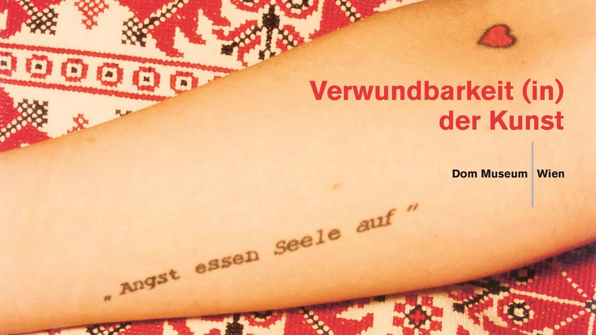 Katrina Daschner, Angst essen Seele auf (Detail), 2006. Dom Museum Wien, Sammlung Otto Mauer. Foto: Katrina Daschner