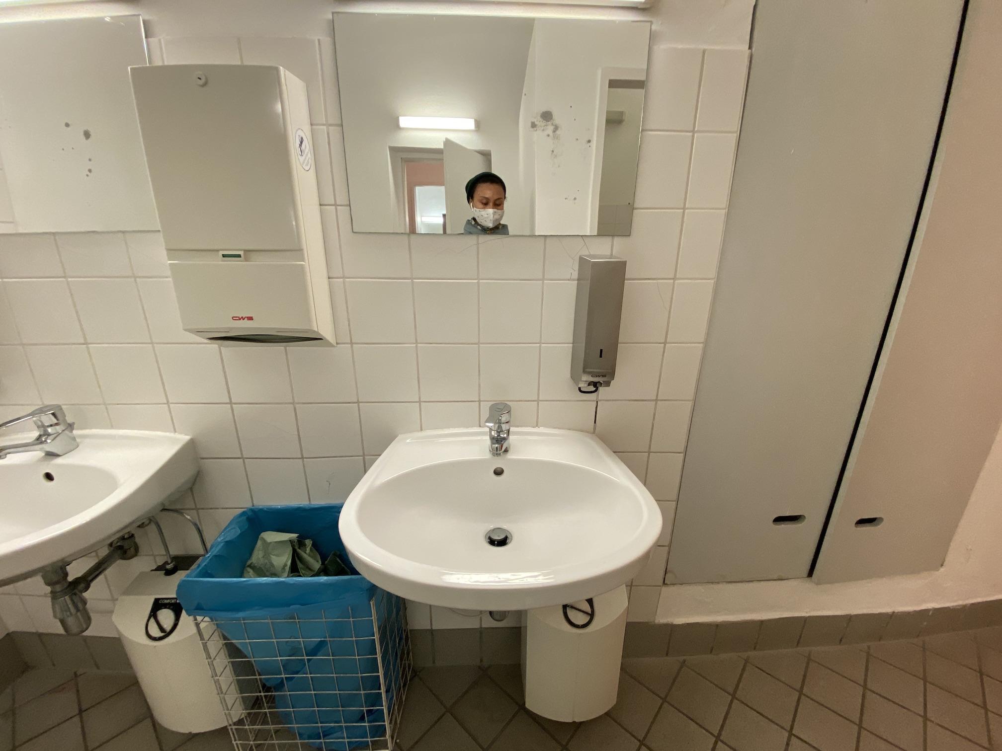 Architekturzentrum Toilette
